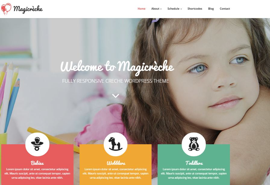 Magicreche WordPress Education Themes
