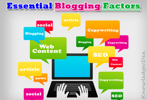 What Blogging Factors Are Important