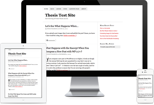 WordPress Premium Themes thesis
