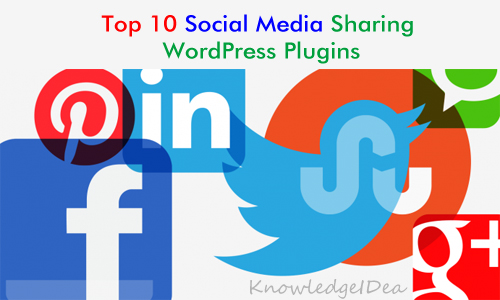 Top 10 Social Media Sharing WordPress Plugins