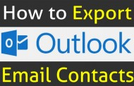How to Export Outlook Contacts to Excel (Quick Guide)