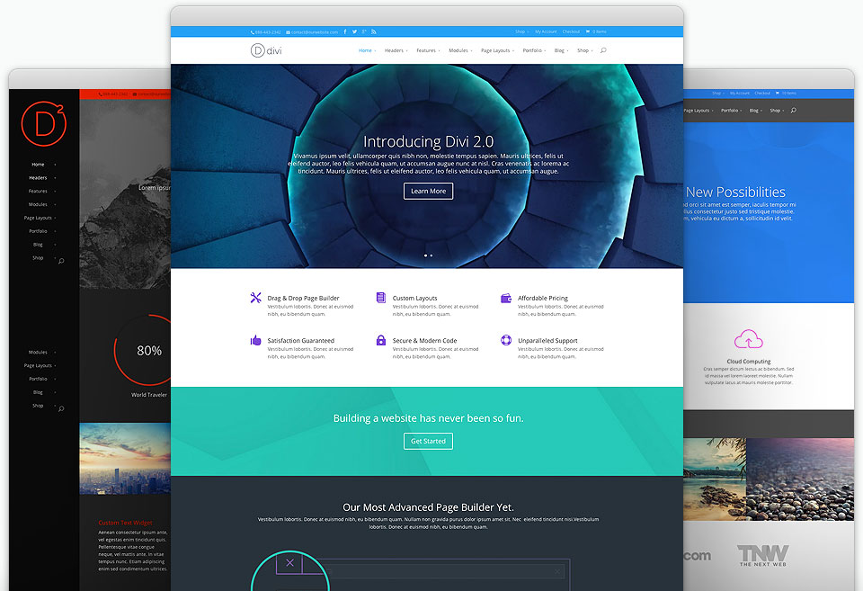 Divi WordPress Theme Free Download