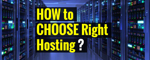 How To Choose Right Hosting Company