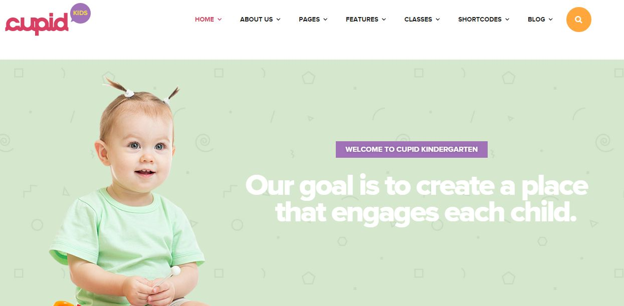 CUPID WordPress Education Themes