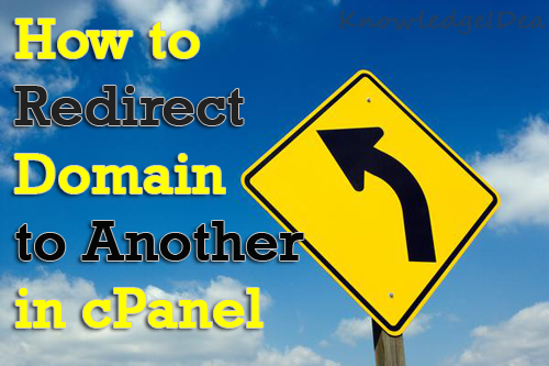 How To Redirect a Domain to Another Domain in cPanel