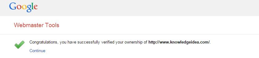 How to Verify Site Ownership on Google Webmaster Tools Verification