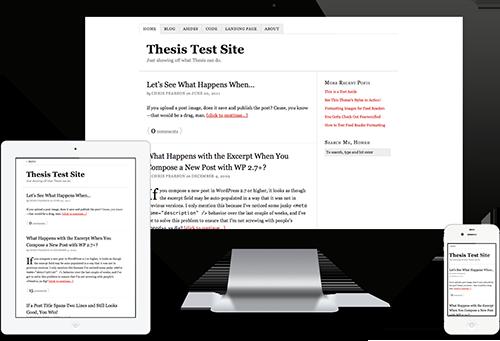 WordPress Premium Themes thesis
