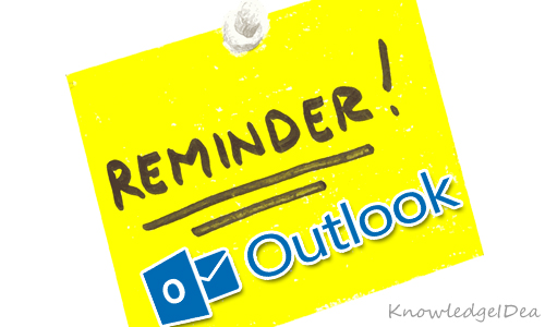 How To Set and Remove Reminders In Outlook 2013