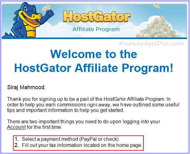 HostGator Affiliate Program Review