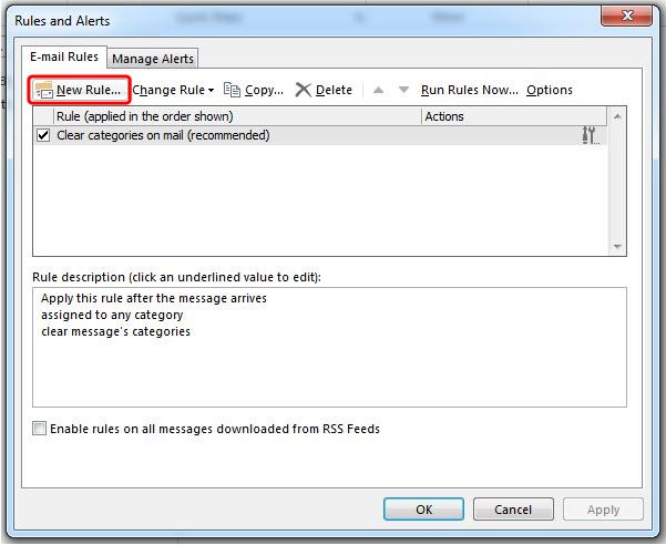 How To Redirect Outlook Emails To Another Email Address step 2